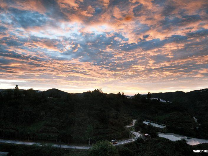 Sunrise Landscape in Malaysia